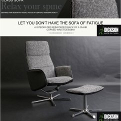 Grey Material Office Chair Vintage Velvet Dickson French Fabric Design Functional With Footrest