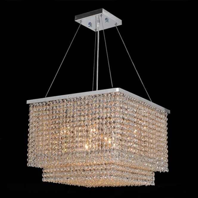 Square Modern Crystal Chandelier Supplieranufacturers At Alibaba