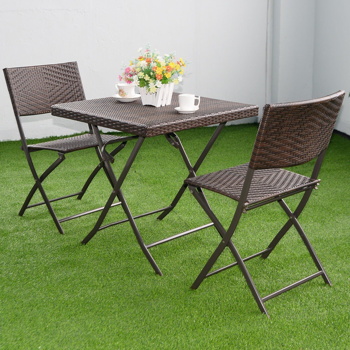 Metal Bistro Table And Chairs Cheap Outdoor Folding Bistro Set Find Outdoor Folding Bistro Set