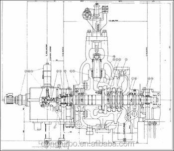 500kw-3000kw Generator Steam Turbine For Thermal Power