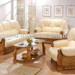 Cushion Sofa Set L Shaped Queen Sleeper Wooden