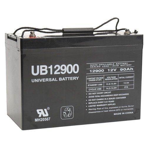 small resolution of get quotations 12v 90ah battery for power boat pontoon electric trolling motor deep cycle