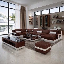 Tv Sofa Durable Leather Reclining Sumeng 2016 New Design Drawing Room Set With Coffee Table Stand