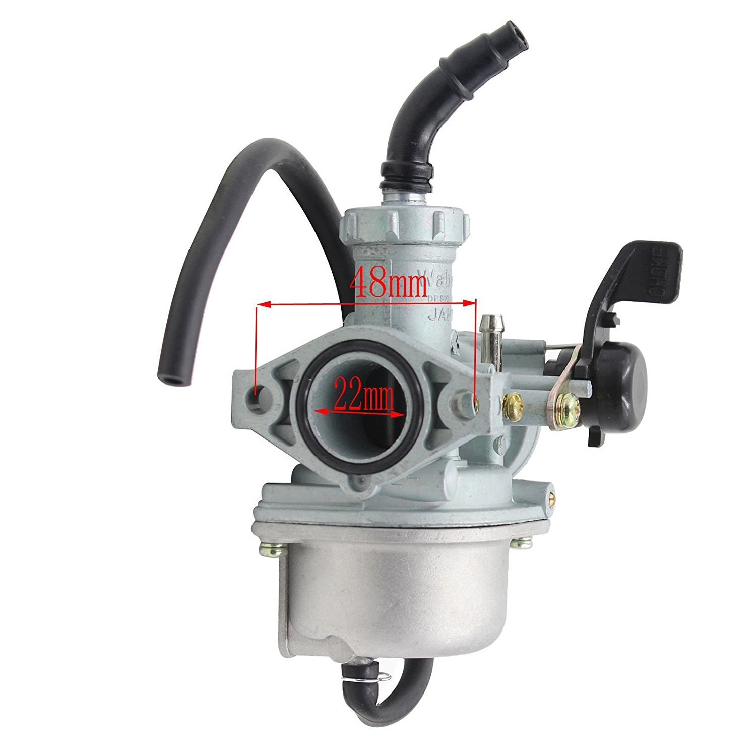 hight resolution of get quotations auto moto 22mm carburetor for honda xr50 crf50 xr70 crf70 carb