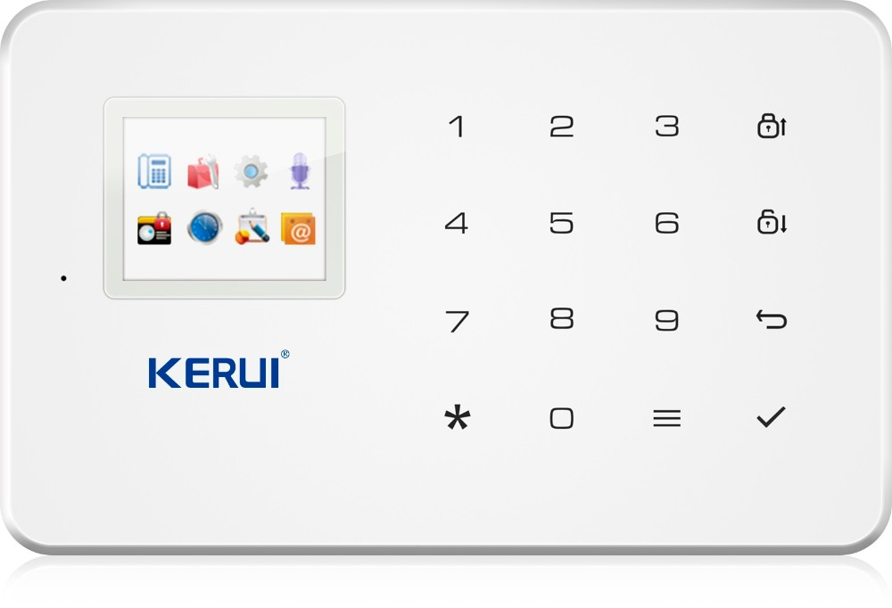 Kerui Wireless G18 App Control Gsm Smart Safe Home Anti