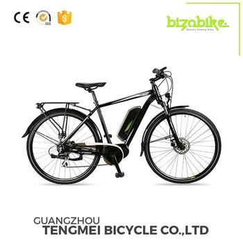 Non-folding Brushless Motor 28 Inch City E Bike For Sale