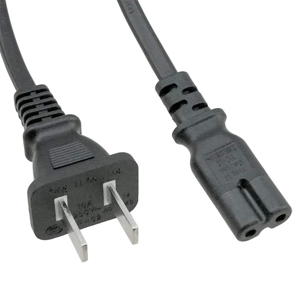 hight resolution of get quotations acp1061 china 2 prong plug to iec c7 6 foot 1 83 meters power cord