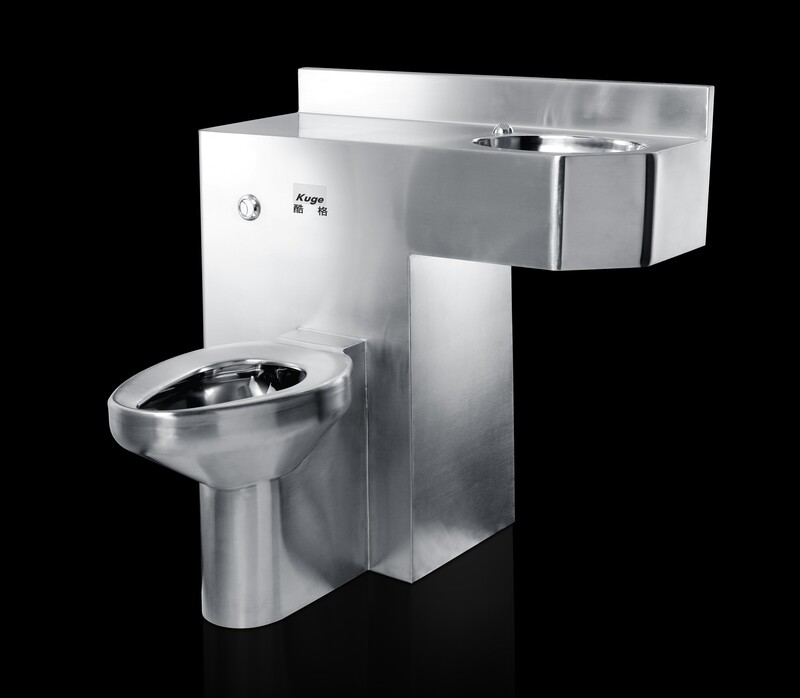 one piece stainless steel prison toilet jail cell toilet for sale steel toilet wash basin combination view toilet wash basin combination kuge