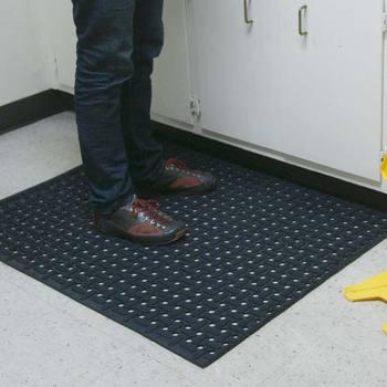 commercial restaurant kitchen mats hand soap rubber cal dura chef comfort interlock modular