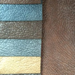 Suede Sofa Fabric Out Door 2017 Hot Sale Bronzed Three Layers Bonded