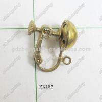Ear Screw Clip On Earring Unpierced Earring Findings - Buy ...