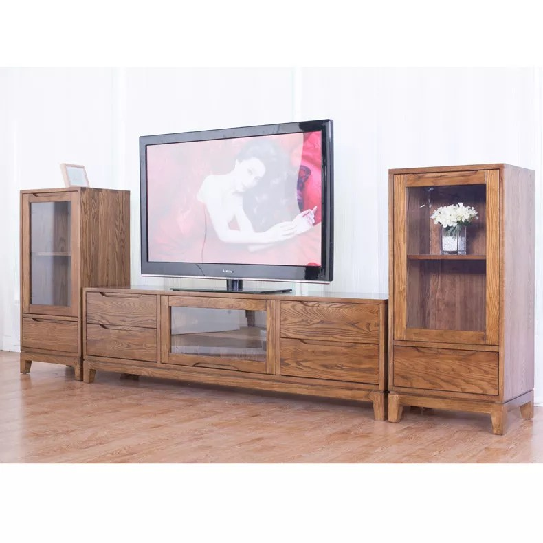 wood tv stand storage console free standing cabinet holds up to a 54 tv buy tv cabinet wall mounted stand lobby tv stand product on alibaba com