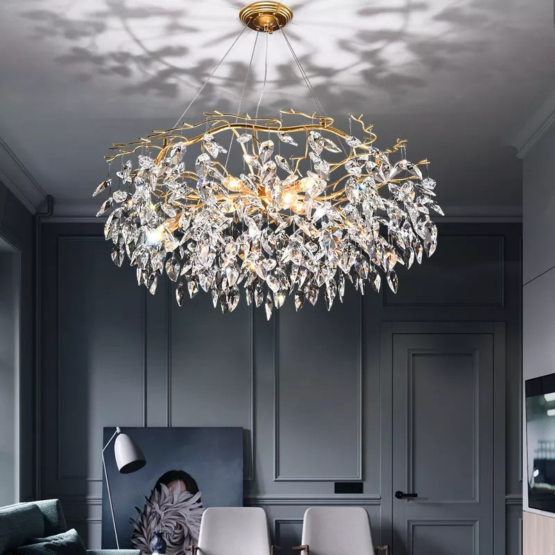 simple modern crystal chandelier restaurant pendant light for living room buy modern chandelier chandelier living room modern lighting product on
