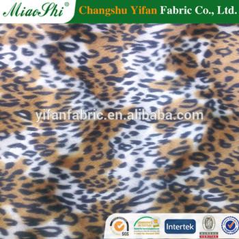 animal skin chair covers swing debenhams 100 polyester printing short fleece fabric for cover