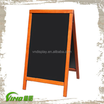 wooden frame chalkboards for