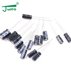 jwco capacitor 470uf 16v 8 12 aluminum electrolytic capacitor for artificial intelligence pcb [ 1000 x 1000 Pixel ]