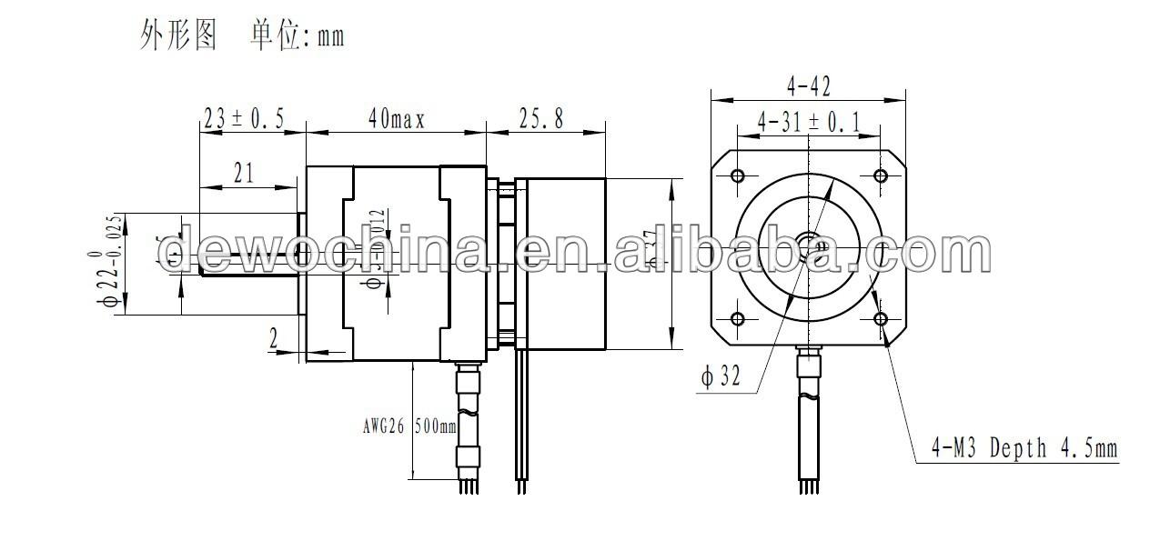 Brake Step Nema 17 Stepper Motor Stepper Motor,Wide Use