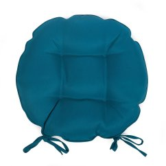 16 Round Bistro Chair Cushions Spica For Sale Cheap Seat Find Get Quotations Set Of 2 Outdoor Pads With Ties Turquoise Blue