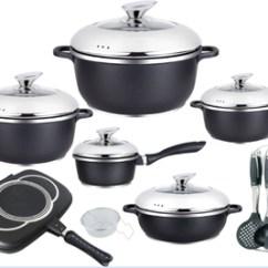 Kitchen Pot Sets Cabinet Color Appliance Die Cast Aluminum Non Stick Cookware Set Buy