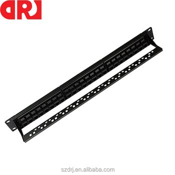 Cheap Wholesale Rj45 Utp Rack Mount Patch Panel Cat5e 24
