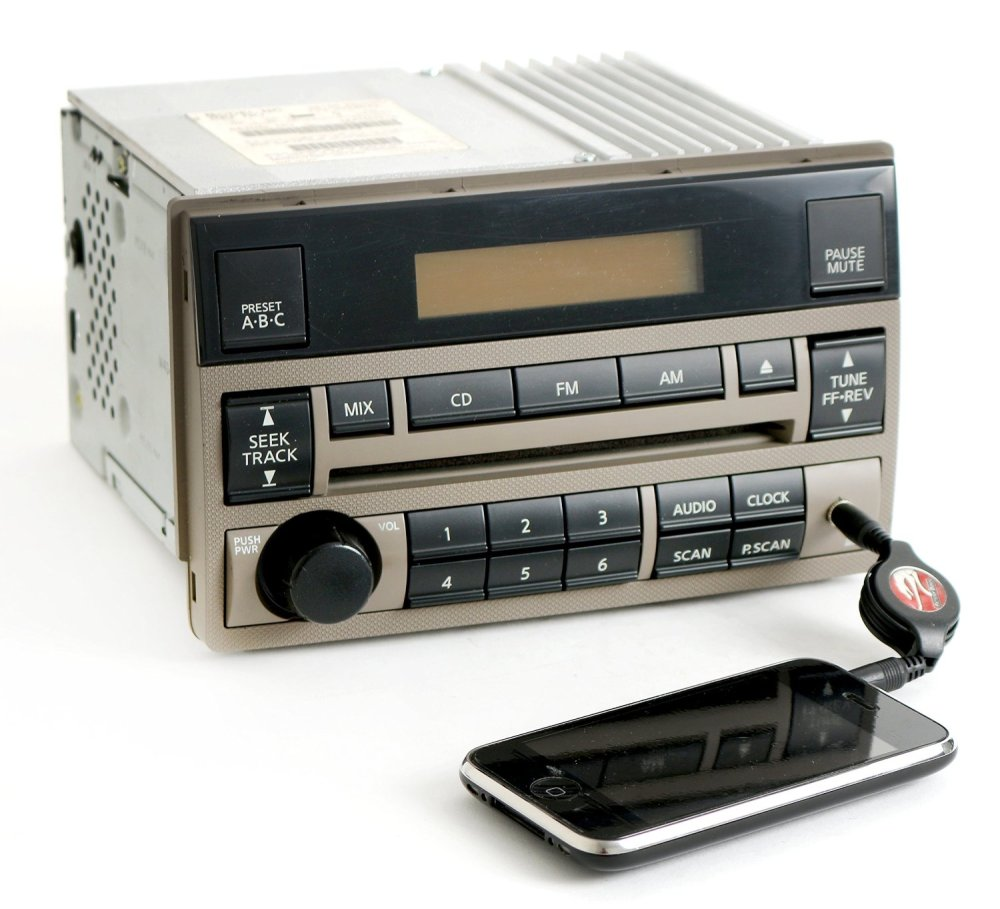 medium resolution of get quotations nissan altima 2005 2006 tan radio amfm cd aux input 28185zb00c standard vol ctrl