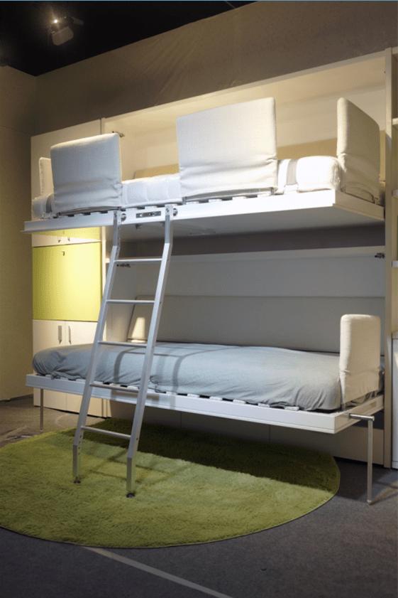 Kinderkamer Opklapbaar Stapelbed OpklapbedDubbelwandige