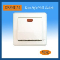 Wall Switch With Led / Neon Indicator Light