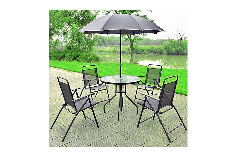 buy exxtra store gray garden furniture