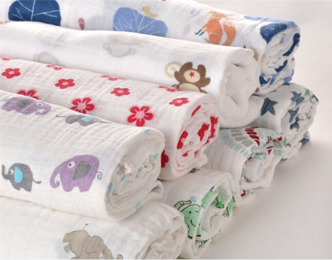 China Textile Organic Fabric Gauze Cotton Muslin Fabric