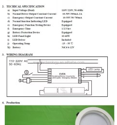 high power led emergency light with 4 8v 4000mah ni cd batteries [ 809 x 1264 Pixel ]