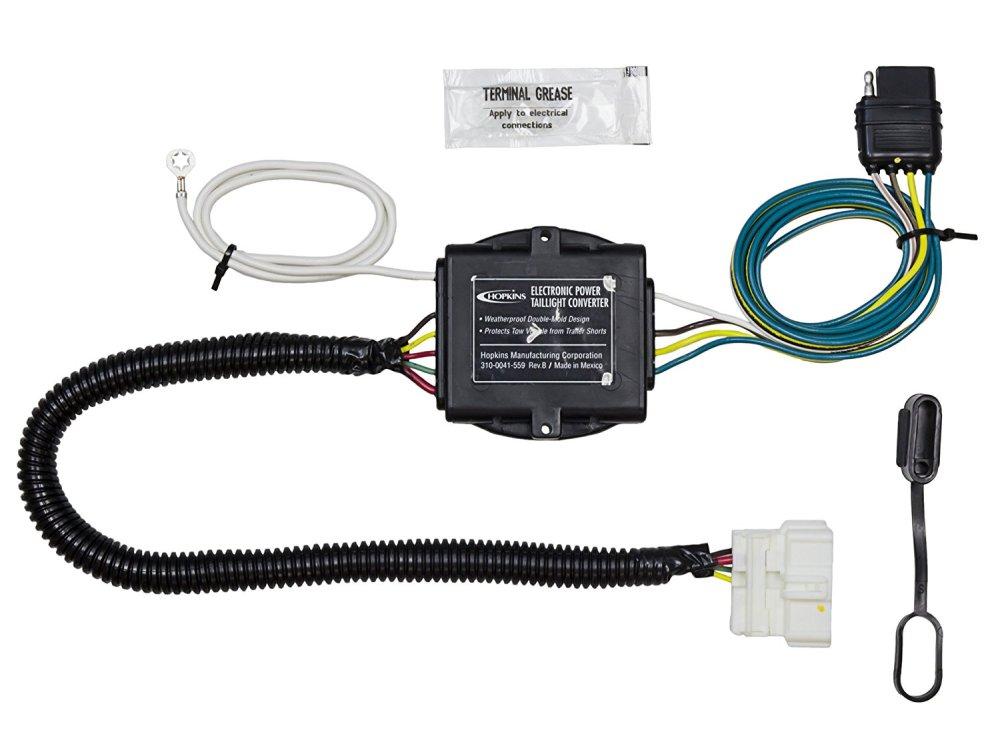 medium resolution of get quotations hopkins 43134 honda pilot plug in simple trailer wiring kit