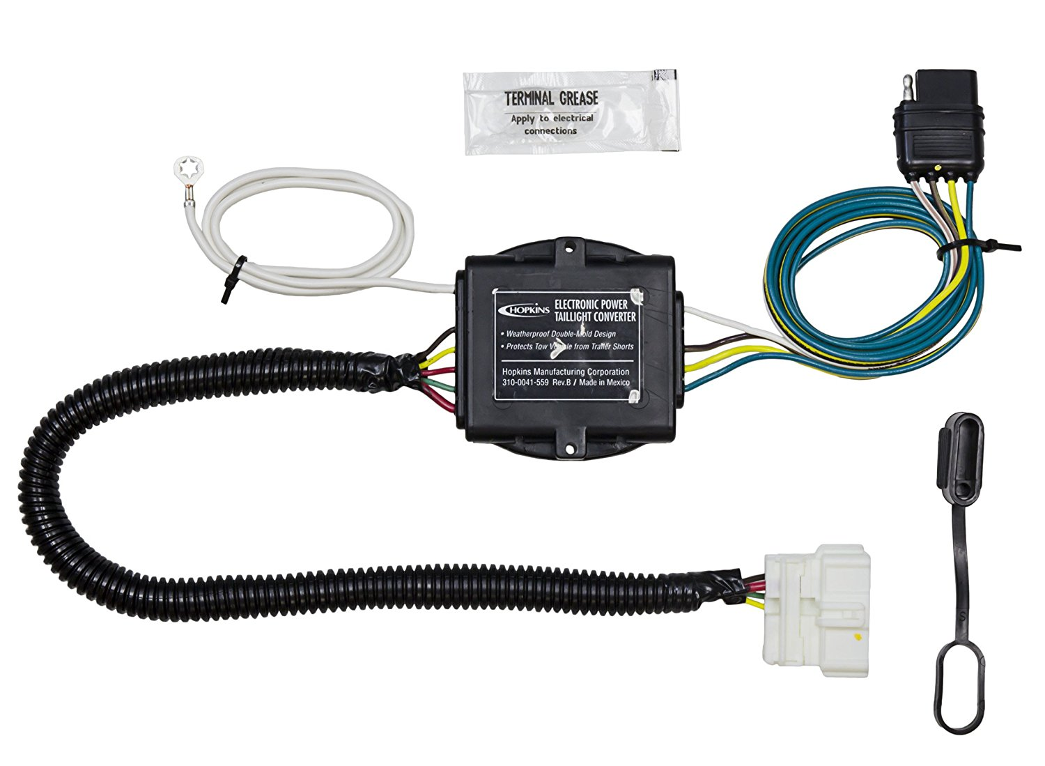 hight resolution of get quotations hopkins 43134 honda pilot plug in simple trailer wiring kit