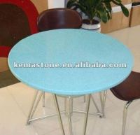 Artificial Quartz Stone Round Table Top - Buy Stone Round ...