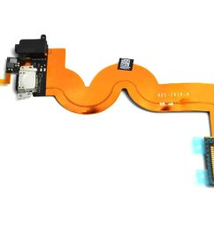 get quotations charging charger dock port audio jack flex cable for apple ipod touch 5 a1421 [ 1500 x 1104 Pixel ]