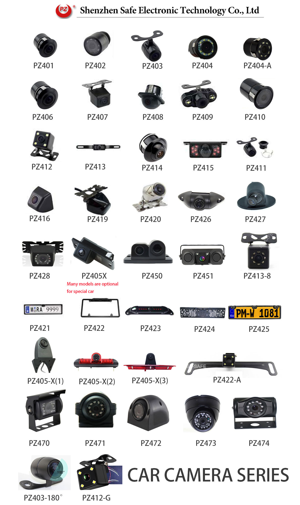 4.3inch Lcd Display Car Reverse Lcd Monitor Car Camera