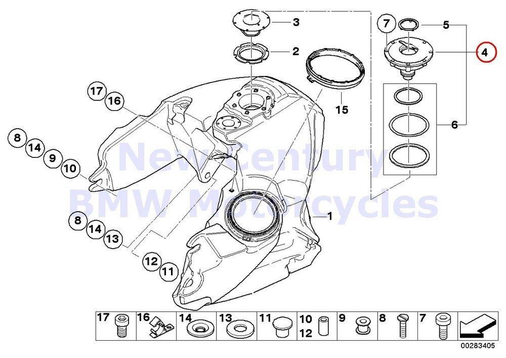 Buy BMW Genuine Motorcycle Fuel Tank Filler Cap R1100GS