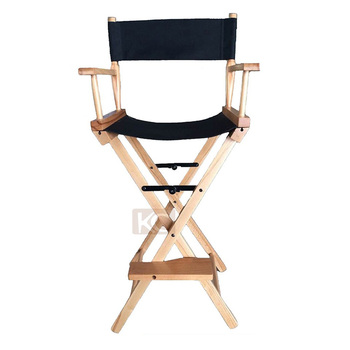 makeup chairs standing chair yoga poses for seniors strong quality wood professional folding director cheap beach