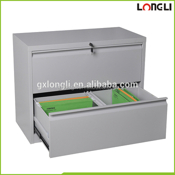 Hot Cheap 2 Drawer Steel Office Furniture Lateral Filing
