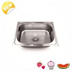Single Bowl Stainless Kitchen Sink Mobile Kitchens Sale Steel Inserts Undermount Yk5746 Buy
