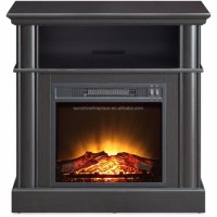 18 Inches Electric Decorative Fireplace Insert With Mantel ...