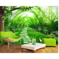 Nature Scenery Wallpaper Pvc 3d Wall Murals For Home ...