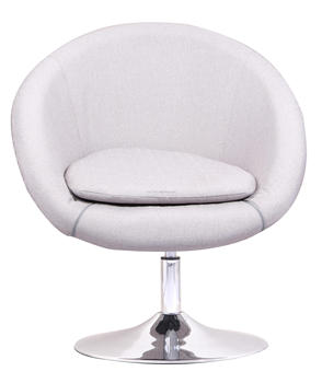 Round Big Seat Leather Home Use Swivel Chair  Buy Round