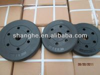 Plastic Coated Barbell Plate