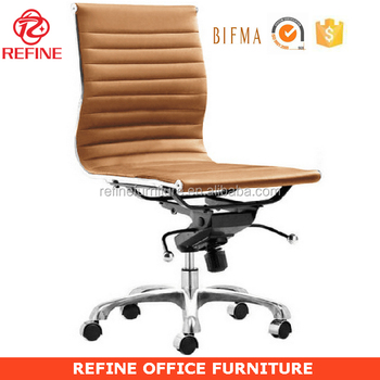office chair without arms tableclothsfactory covers synthetic leather modern armless no rf s075w buy