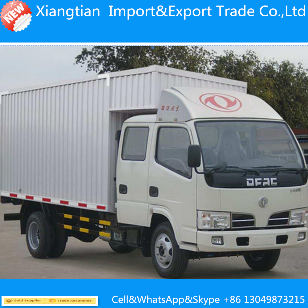 hight resolution of dongfeng 180hp 4 2 10ton cargo truck 10t dry box truck