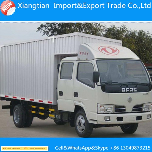 small resolution of dongfeng 180hp 4 2 10ton cargo truck 10t dry box truck