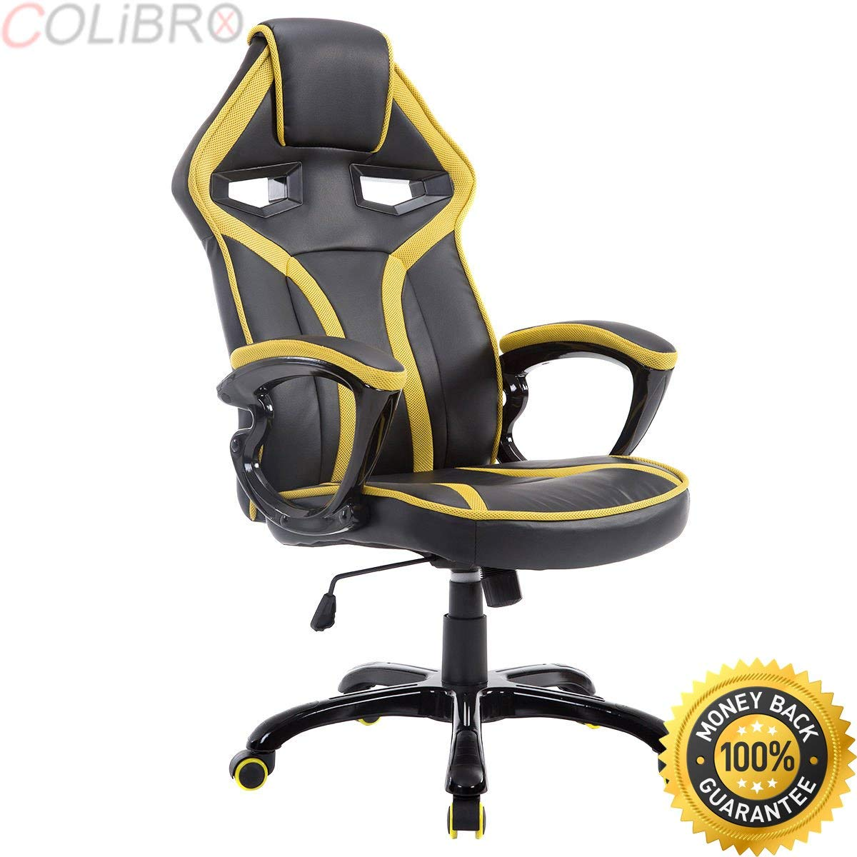 racing seat office chair diy glider rocker covers cheap gaming find deals on line at alibaba com get quotations colibrox race car style bucket high back desk