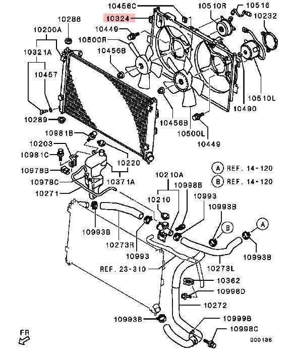 Ventilador Del Radiador/condensador Ventilador Cubierta
