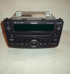 get quotations 08 09 nissan rogue bose radio cd player mp3 6 disc changer 2008 2009  [ 1024 x 768 Pixel ]