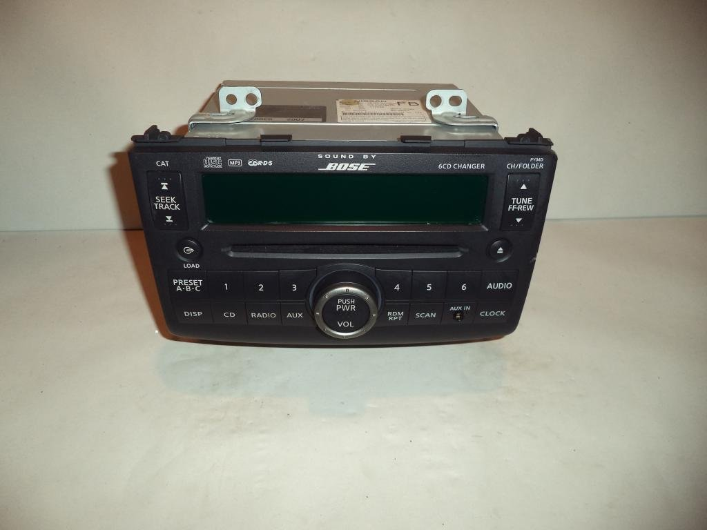 hight resolution of get quotations 08 09 nissan rogue bose radio cd player mp3 6 disc changer 2008 2009